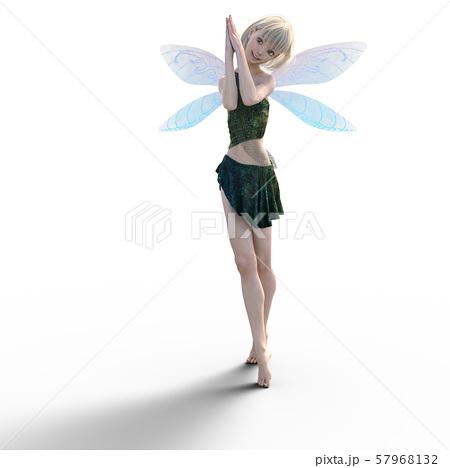可愛い妖精 perming3DCG イラスト素材 57968132