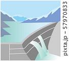 富山 黒部ダム 57970833