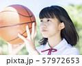 女子中高生 バスケ 57972653
