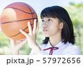 女子中高生 バスケ 57972656