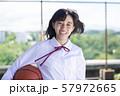 女子中高生 バスケ 57972665