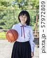 女子中高生 バスケ 57972809