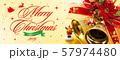 クリスマスバナー 57974480