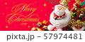 クリスマスバナー 57974481