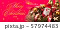 クリスマスバナー 57974483