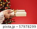 クリスマスプレゼント クリスマスツリー クリスマスカラー 57978299