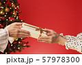 クリスマスプレゼント クリスマスツリー クリスマスカラー 57978300