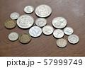 ユーロのお金 57999749