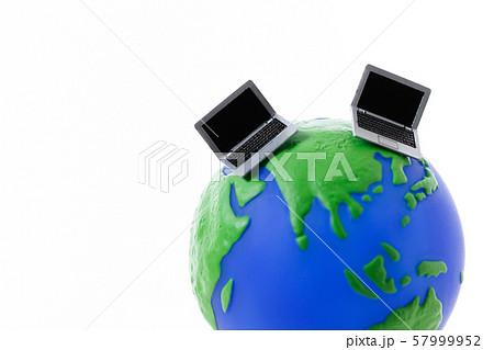 パソコン インターネット グローバル 57999952