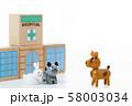 ペット 動物病院 病院 58003034