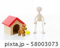 ペット 犬 58003073