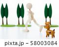 ペット 犬 58003084