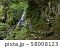 不動滝(福井県勝山市北谷町) 58008123