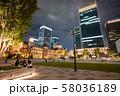 東京の観光スポット 東京駅 丸の内 58036189