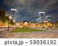 東京の観光スポット 東京駅 丸の内 58036192