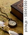 アンティーク 時計 懐中時計 地図 レトロ 58045560