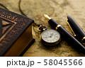アンティーク 時計 懐中時計 地図 レトロ 58045566