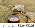 アンティーク 時計 懐中時計 地図 レトロ 58045586