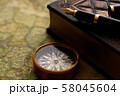 アンティーク 時計 懐中時計 地図 レトロ 58045604