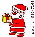 サンタさんのプレゼント 58047266