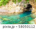 伊豆半島浮島海岸の風景、静岡県賀茂郡西伊豆町にて 58050112
