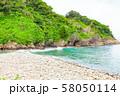 伊豆半島浮島海岸の風景、静岡県賀茂郡西伊豆町にて 58050114