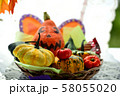 秋の実りの収穫祭 58055020