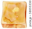 トースト・バター 58055330