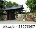 姫路城・桜門 58076957