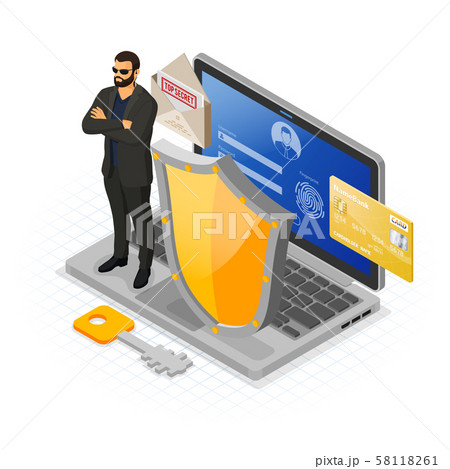 Computer Internet and Personal Data Security 58118261