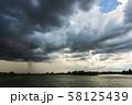 thunder storm sky Rain clouds 58125439
