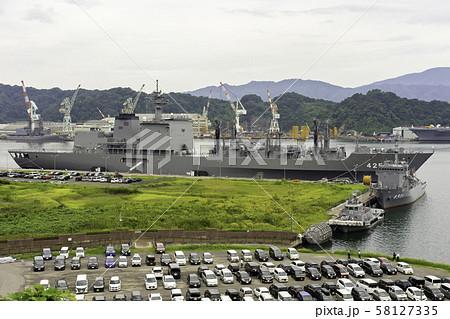 海上自衛隊 補給艦 ましゅう AOE-425 京都府舞鶴市 58127335