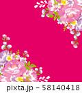 花柄フレーム 台湾花布 58140418