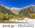 長野・紅葉の上高地 58151022