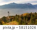 岐阜・紅葉の新穂高ロープウェイと笠ヶ岳 58151026