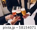 4種のビールで乾杯 58154071