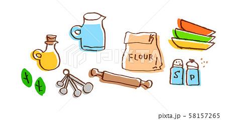 キッチン用品・材料 セット2 58157265