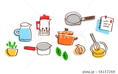 キッチン用品・材料セット8 58157269