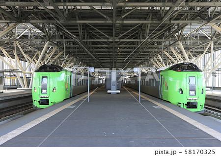 789系 特急ライラック 並び 旭川駅 58170325