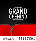 Grand opening concept. Vector Illustration 58187691