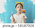 子供 ライフスタイル 絵描き 58187926