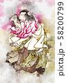 浮世絵 歌舞伎役者 その35 水彩 58200799