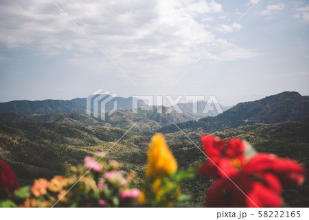 Beautiful landscape in the mountains 58222165