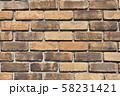 レンガ壁の背景素材_テクスチャ 58231421