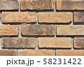 レンガ壁の背景素材_テクスチャ 58231422