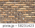 レンガ壁の背景素材_テクスチャ 58231423
