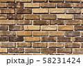 レンガ壁の背景素材_テクスチャ 58231424