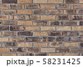 レンガ壁の背景素材_テクスチャ 58231425