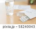 飲み薬イメージ 薬 風邪薬 インフルエンザ 58240043