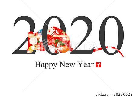 2020年子年年賀状 58250628